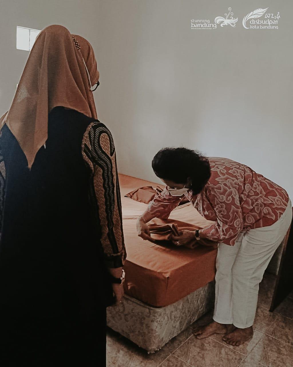 Kegiatan Pendampingan Tata Kelola Homestay Kampung Wisata Literasi Kecamatan Cinambo Kota Bandung