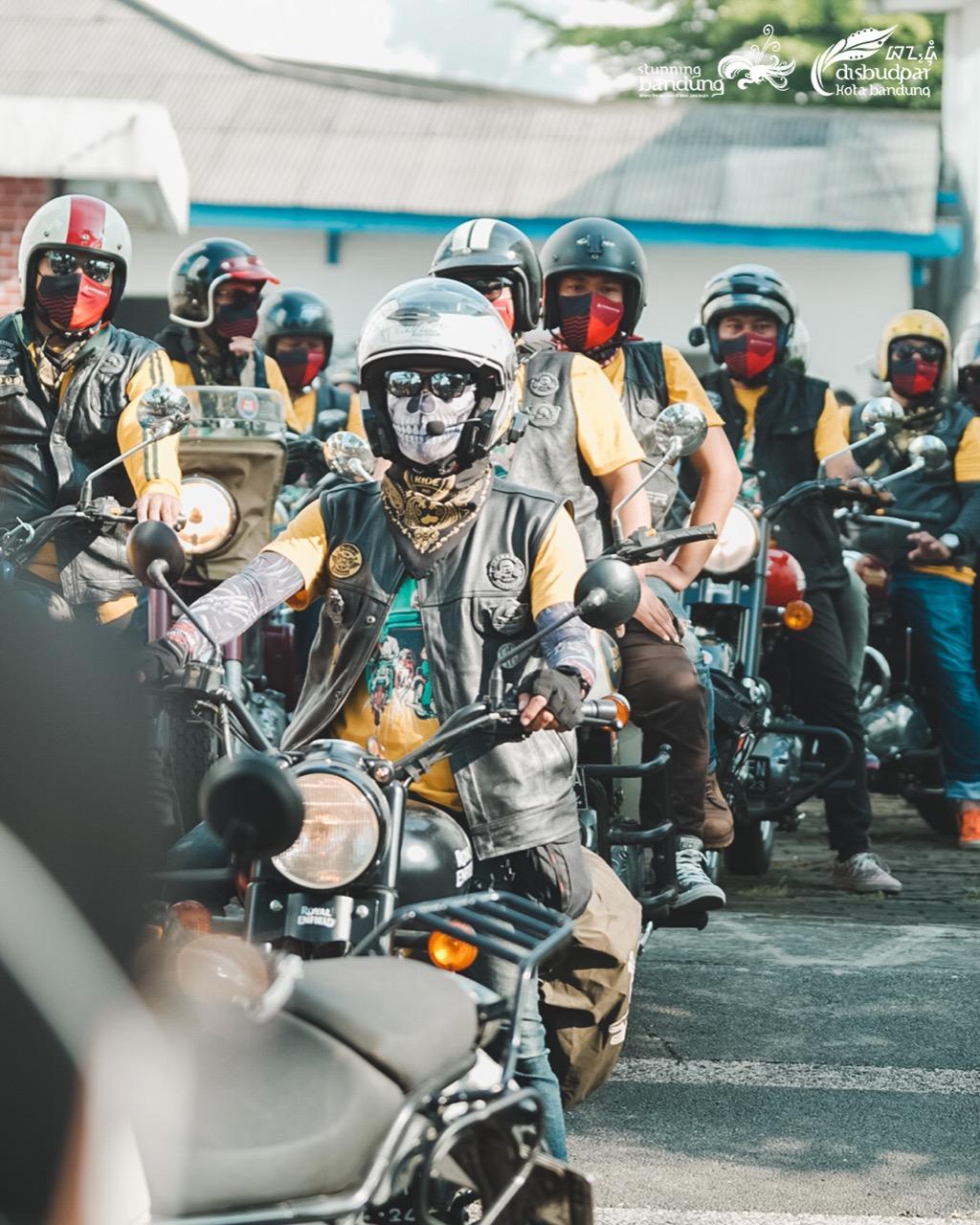 One Ride Jelajah Bandung dalam Memeriahkan Hari Jadi ke-211 Kota Bandung